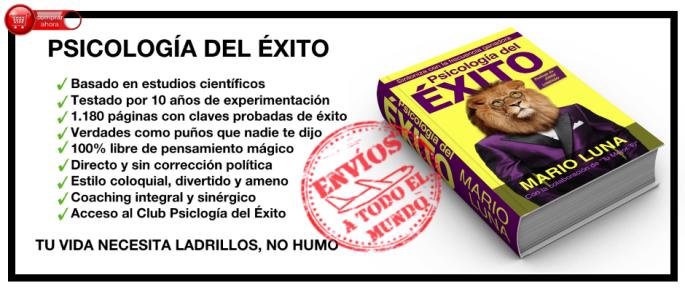 Libro Psicología del Éxito, por Mario Luna